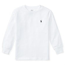 Polo Ralph Lauren Boy LS T-shirt White
