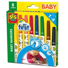 SES Creative Baby Markers 8 Colors