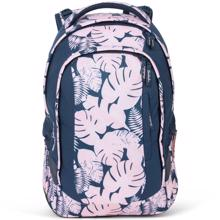 Satch Pack School Bag Botanic Blush