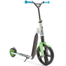 Scoot and Ride Highway Gangster White/Green/Blue