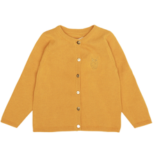 Soft Gallery Baby 0 Mini Owl Golden Glow Carrie Cardigan