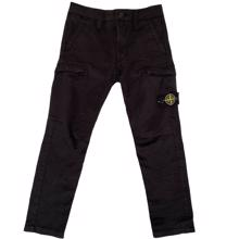 Stone Island Junior Pants Black