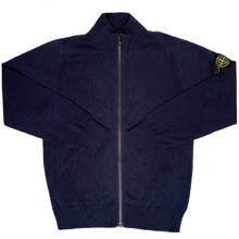 Stone Island Junior Cardigan Navy
