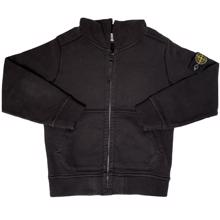 Stone Island Junior Cardigan Black