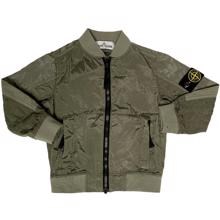 Stone Island Junior Jacket Green