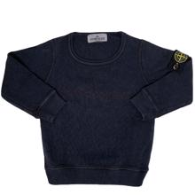 Stone Island Junior Sweatshirt Navy Melange