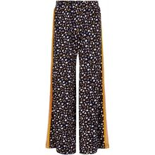 The New Melrose Wide Pants Black Iris