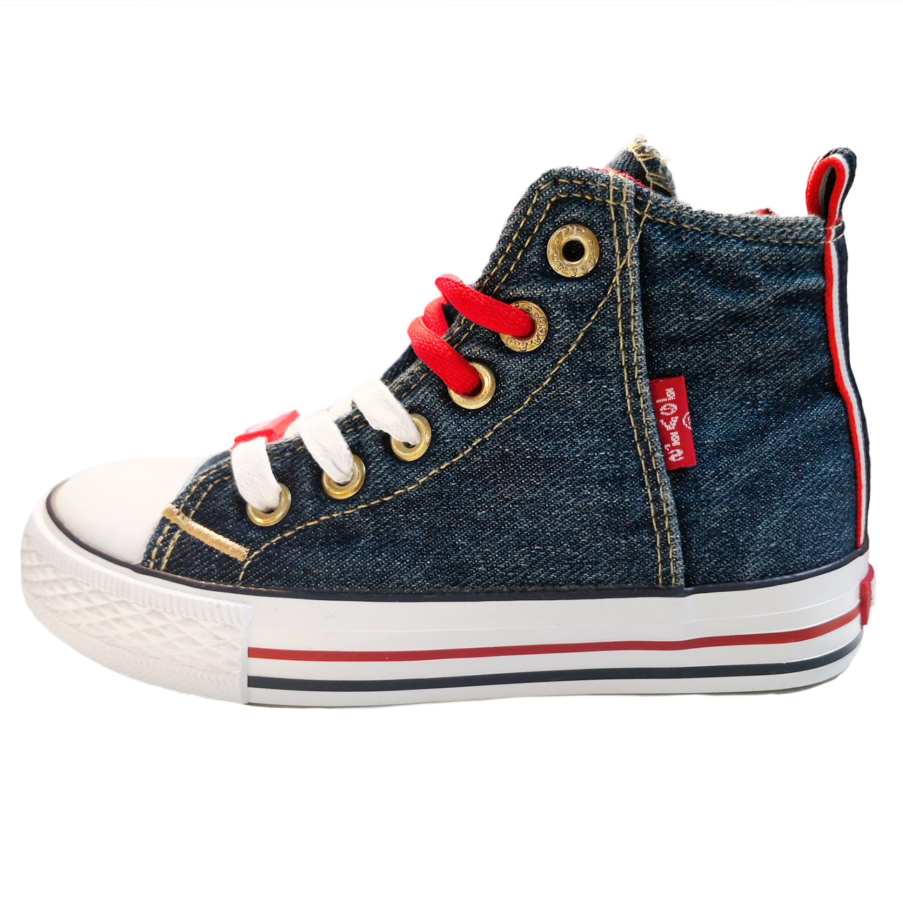 Levi's Sneakers Original Hi Blue Denim