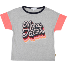 Little Marc Jacobs Girl T-shirt Grey Marl