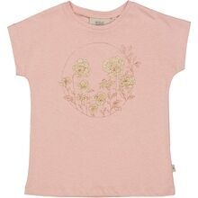 Wheat Misty Rose T-shirt Flower Circle
