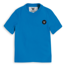 Wood Wood Double A Ola T-shirt Blue