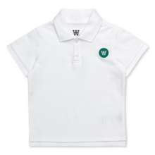 Wood Wood Double A Mac Polo T-shirt White