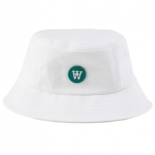 Wood Wood Val Bucket Hat White