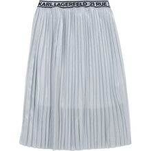 Karl Lagerfeld Kids Light Grey Skirt
