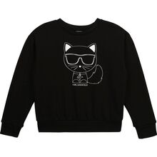 Karl Lagerfeld Kids Black Sweatshirt