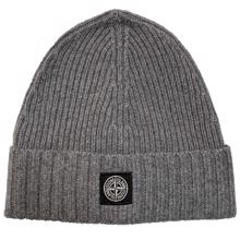 Stone Island Junior Beanie Grey