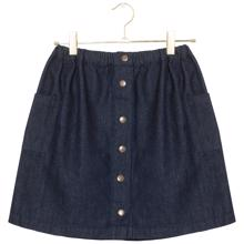 A Monday Sara Skirt Estate Blue