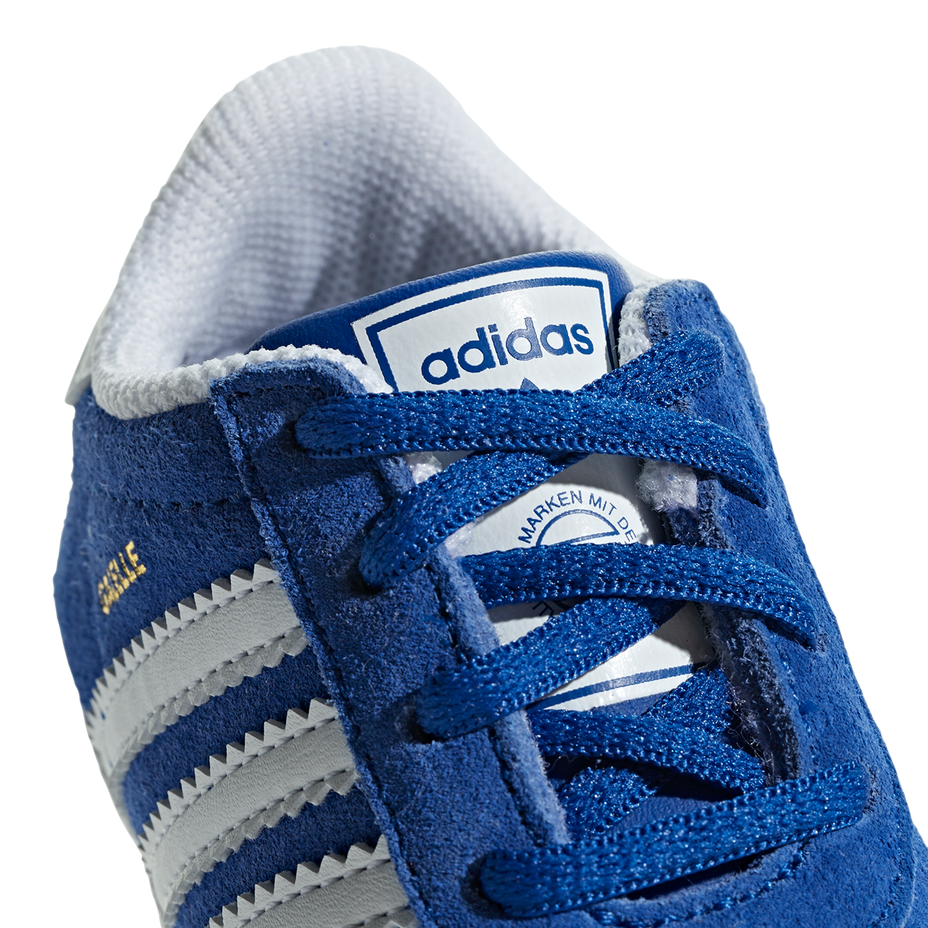 3dfc6fb4516 adidas Gazelle Crib Baby Sneakers Collegiate Navy White