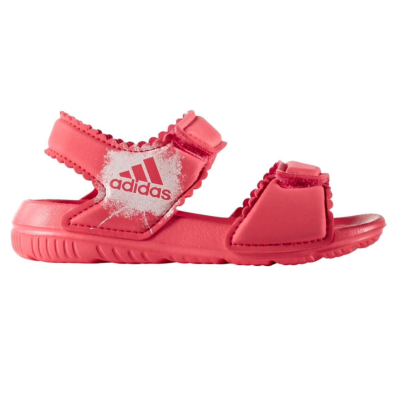 köp bra ankommer bra ut x adidas Swim Sandal Pink BA7868