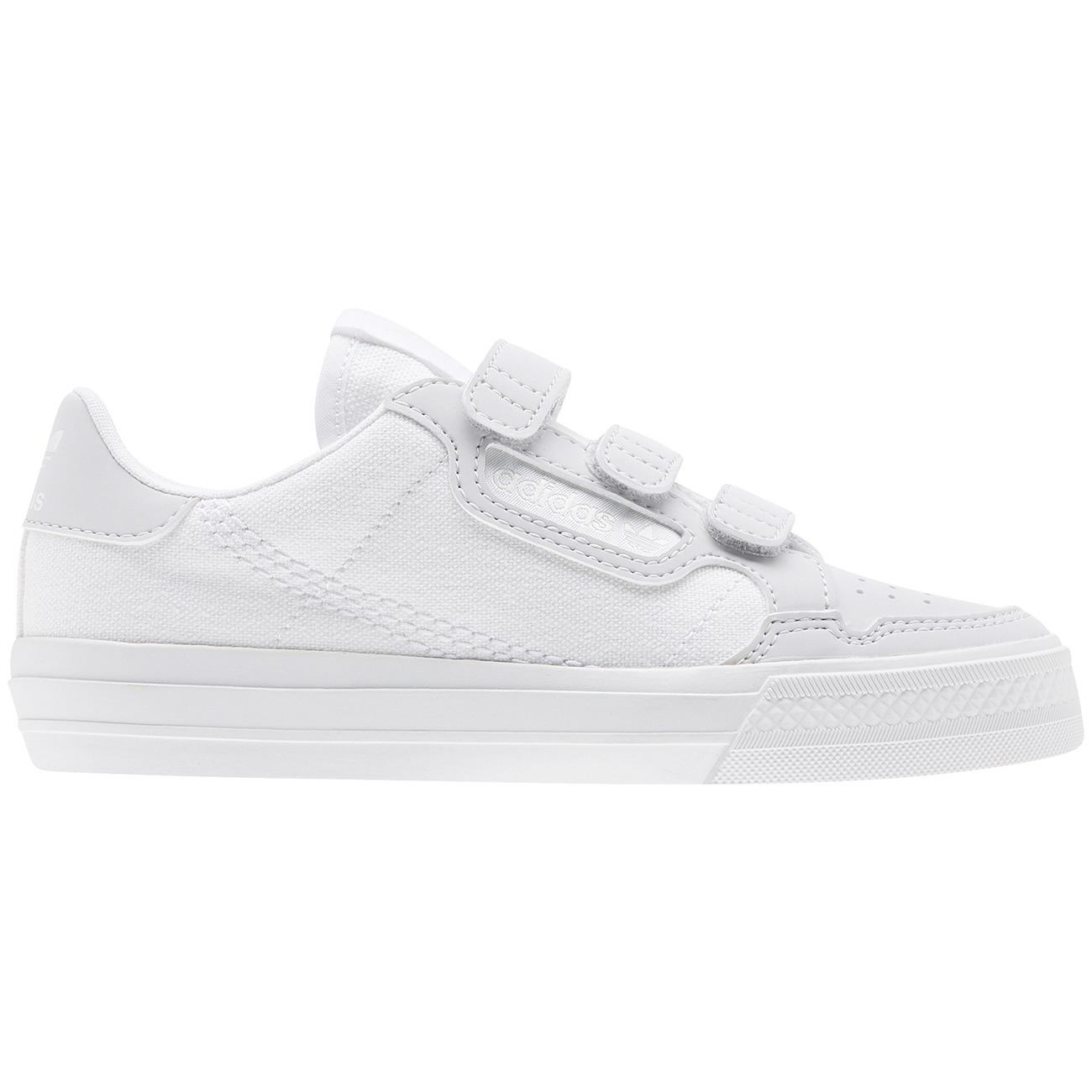 adidas Continental VULC Velcro Sneakers White
