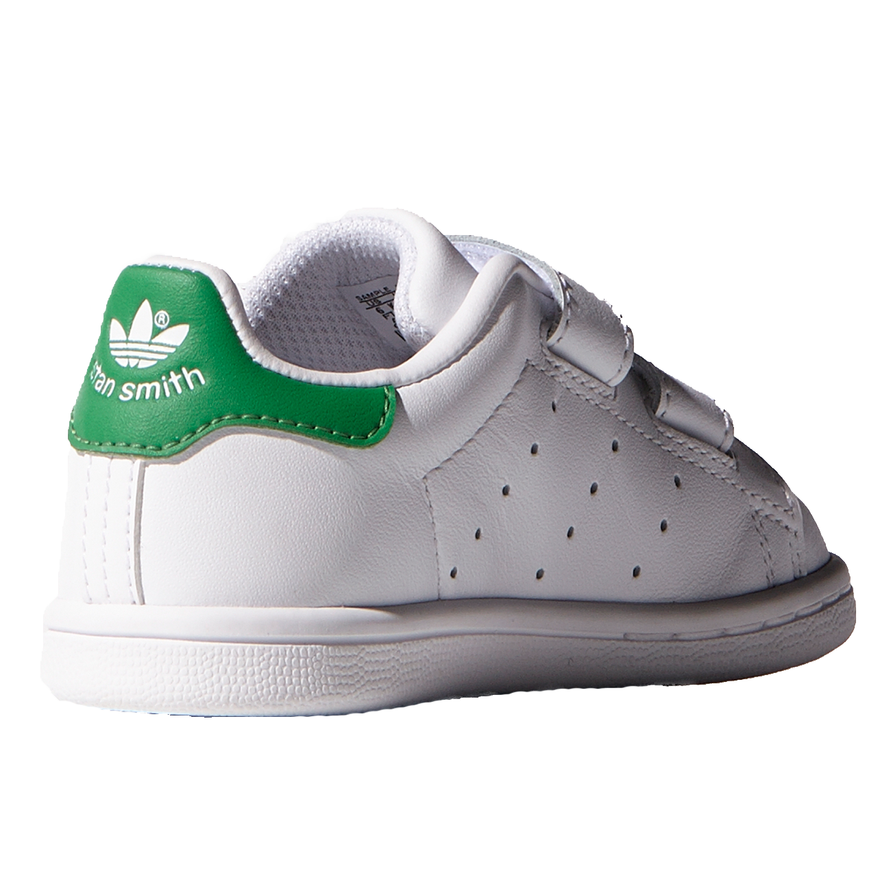 adidas stan smith hvid green sale