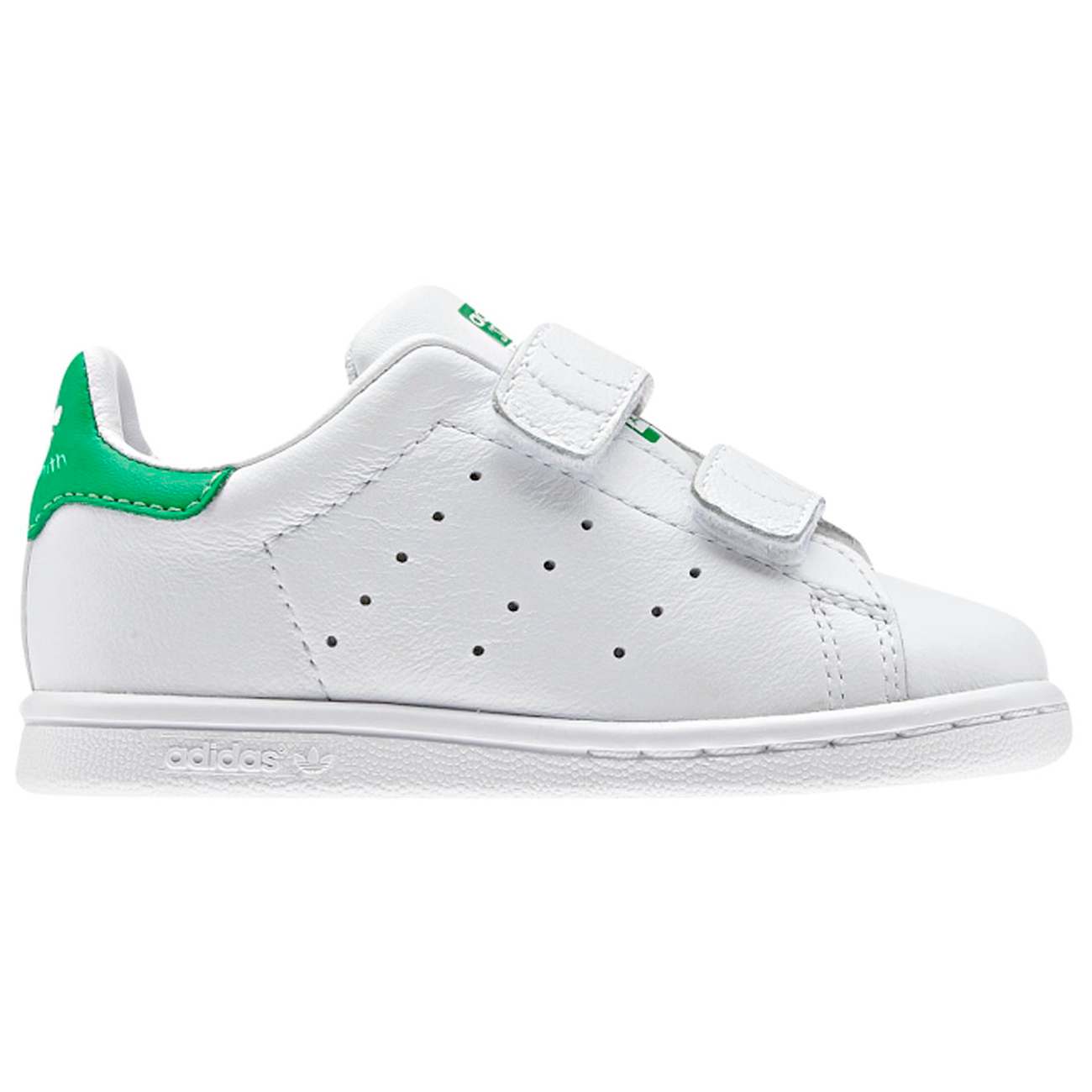 adidas stan smith zwart groen