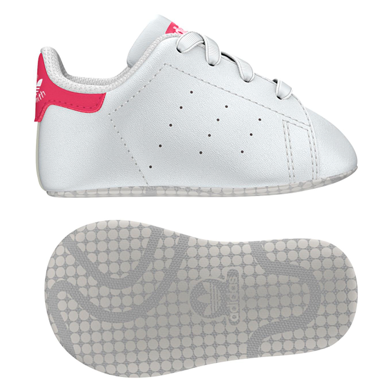 adidas stan smith hvid ray pink rose gold