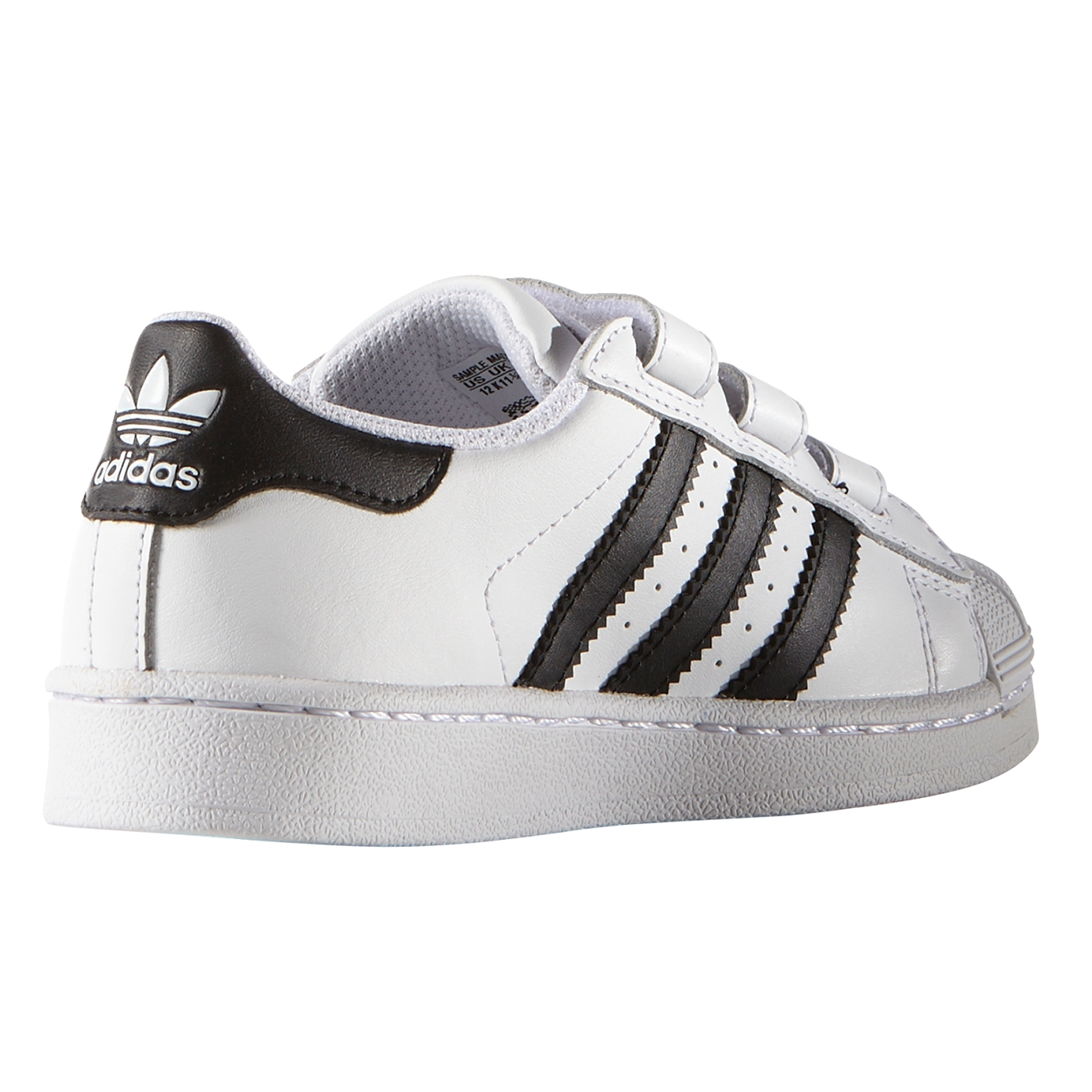 telar idea Énfasis  adidas Superstar Sneakers White/Black B26070