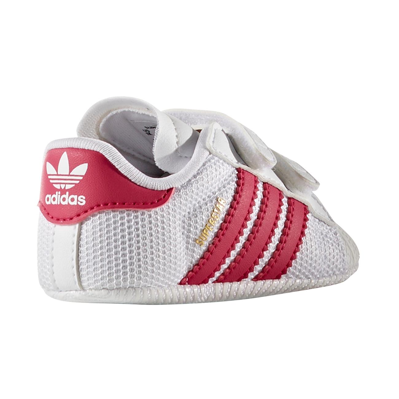 4eaaec28492 adidas Superstar Sneakers White/Pink S79917