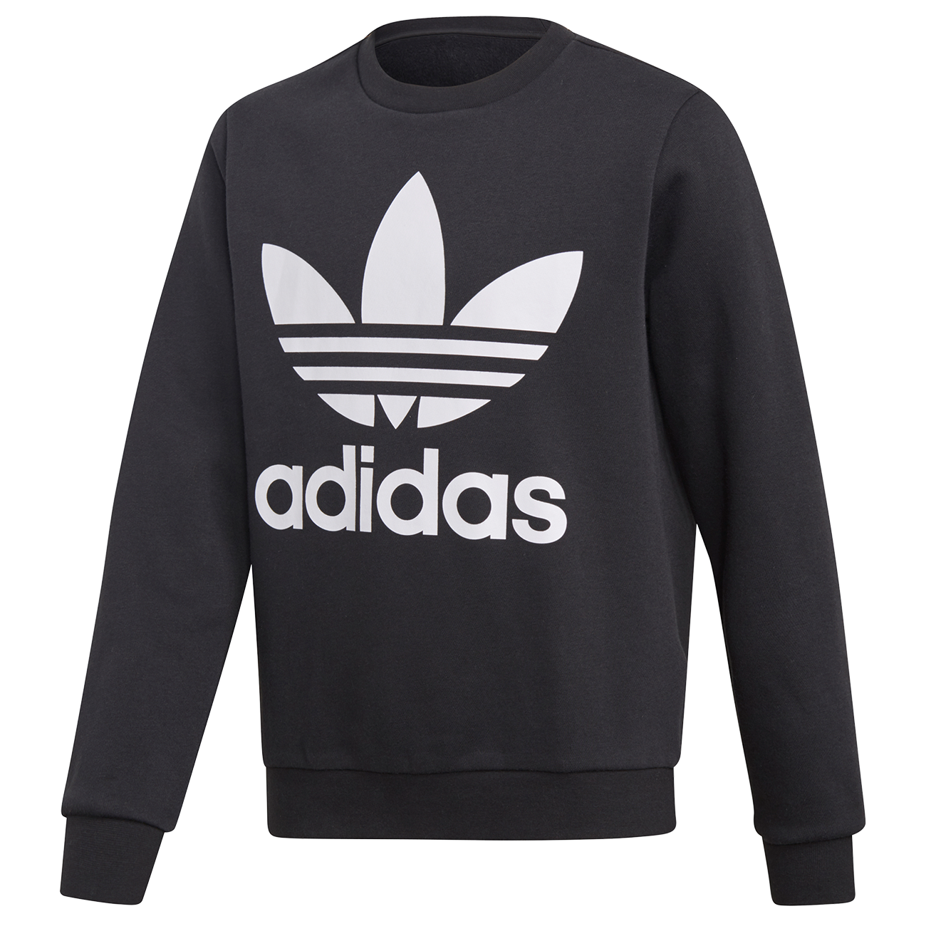adidas Crew Sweatshirt Black/White