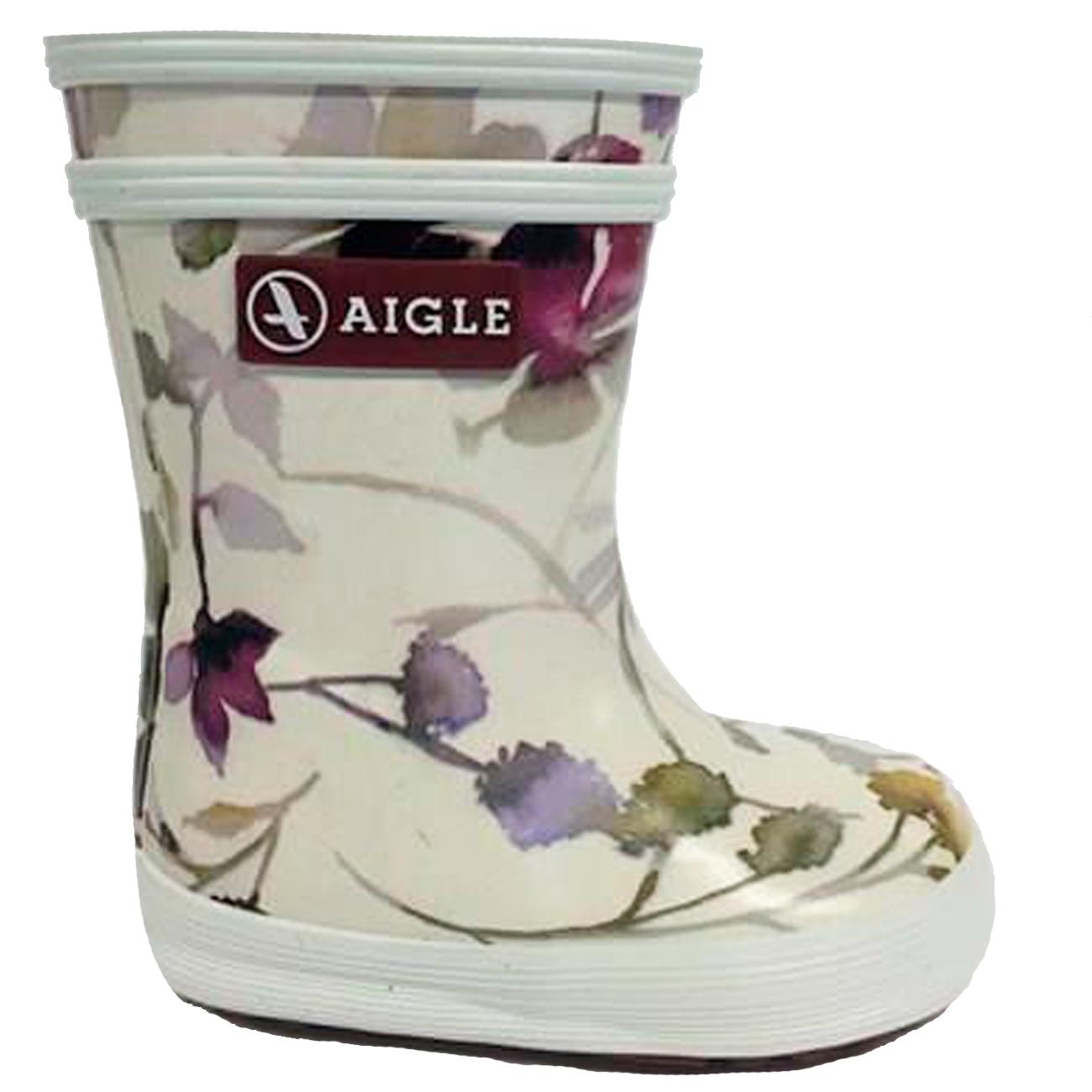 cf8c90e5aea68 Aigle Baby Flac Wellingtons Wildflower
