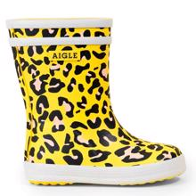 Aigle Baby Flac Wellies Leopard