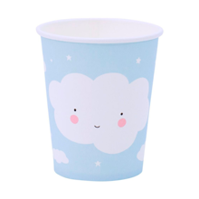A Little Lovely Company Celebration Cups Clouds 12 pcs