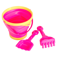 A Little Lovely Company Bucket and Spade Set Pink