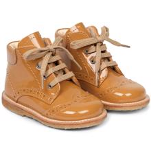 Angulus First Step Lace Up Ochre 2378-101-2352