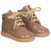 Angulus First Step Lace Up Mocca 2378-101-1387