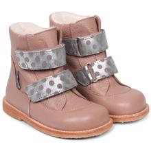 Angulus Tex Boots w. Velcro Make-Up/Silver Dots 2134-103-8830