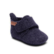 Bisgaard Indoor Shoes Wool Blue