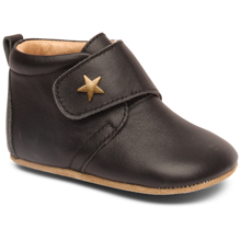 Bisgaard Indoor Shoes Velcro Star Black