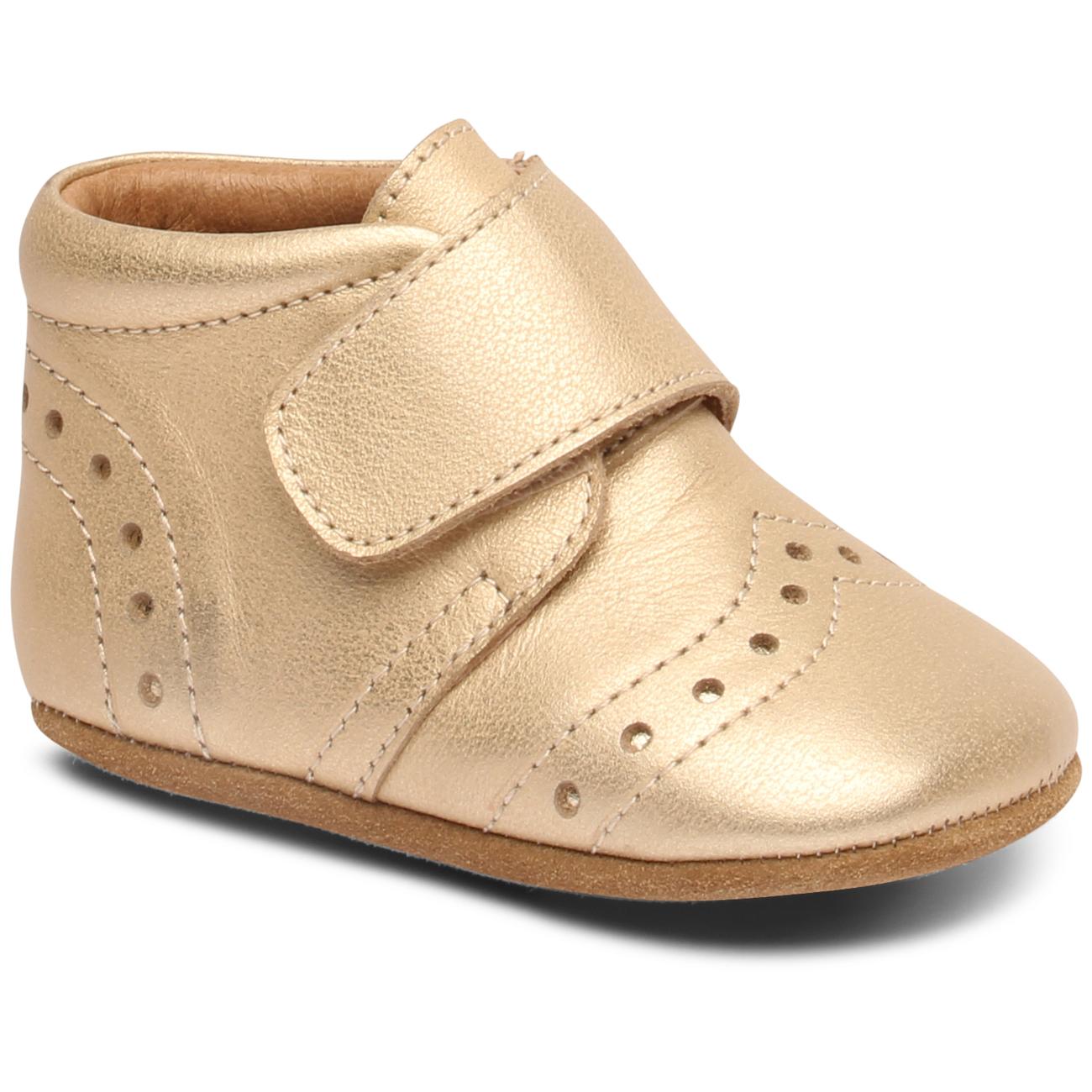 Petit Bisgaard Indoor Velcro Shoes Gold Z6qxtnwA QxrdoeWECB