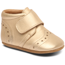 Bisgaard Indoor Shoes Velcro Petit Gold