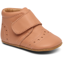 Bisgaard Indoor Shoes Velcro Petit Nude