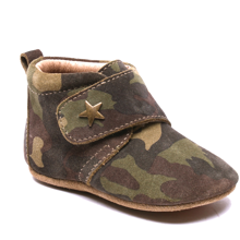 Bisgaard Indoor Shoes Velcro Star 12301 Camo