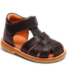 Bisgaard Caja Sandal m. Velcro Black