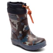 Bisgaard Winter Thermo Rubber Boots Camouflage Blue