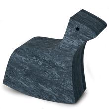 bObles Horse Marble Dark Grey