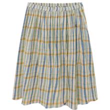 Bobo Choses Checker Wrap Midi Skirt