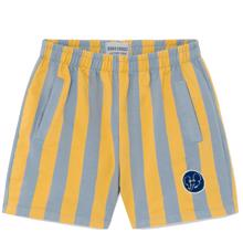 Bobo Choses Striped Fleece Bermuda Shorts
