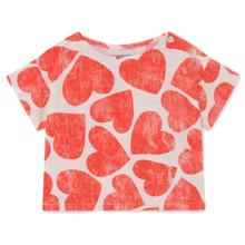 Bobo Choses All Over Hearts Bluse