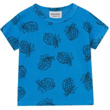 Bobo Choses Pineapple All Over Short Sleeve T-shirt Blue